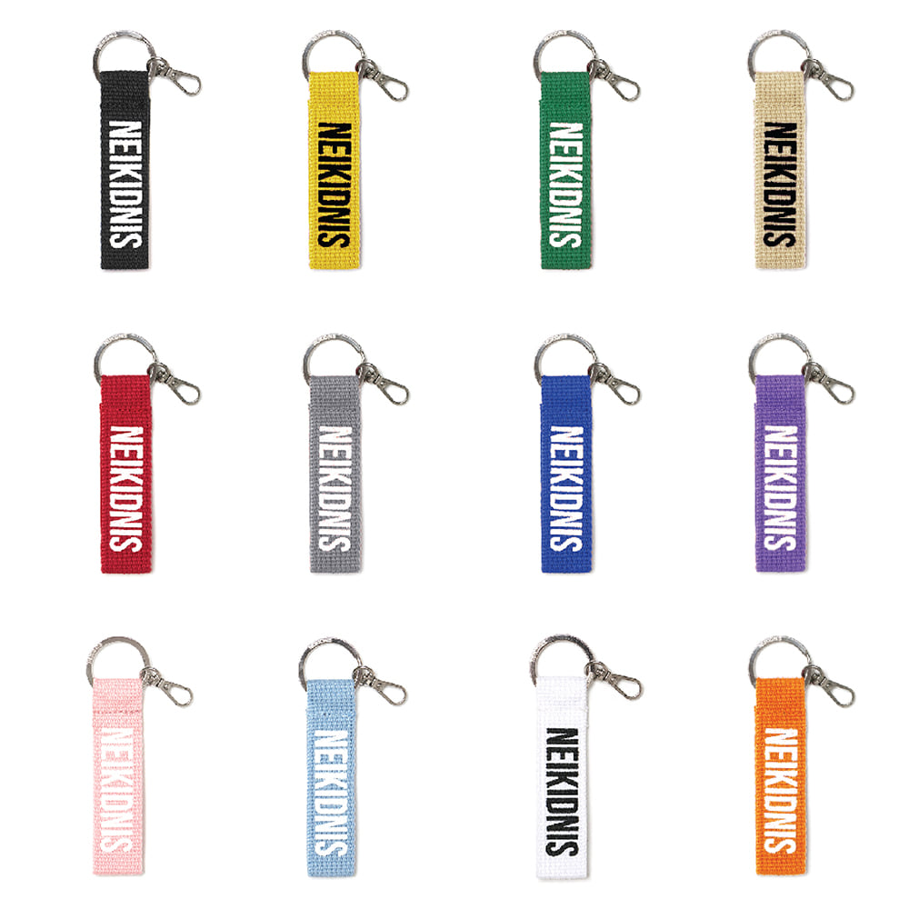 LOGO KEY HOLDER (12 COLORS)