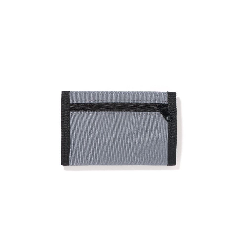VELCRO WALLET / CHARCOAL