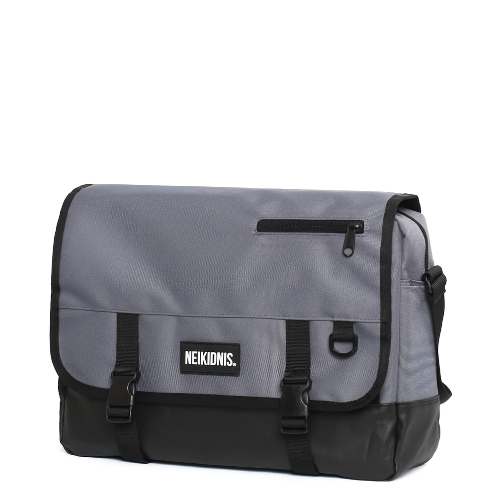 ICON MESSENGER BAG / CHARCOAL