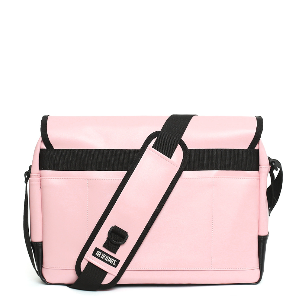 [레더] ICON MESSENGER BAG / LEATHER PINK