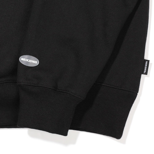 BOLD LOGO SWEAT SHIRT / BLACK
