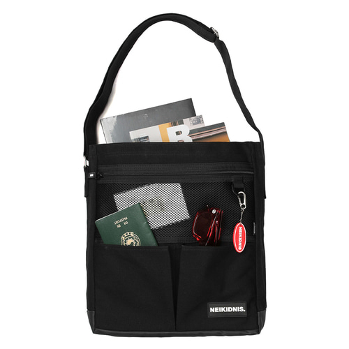 CANVAS POCKET BAG / BLACK