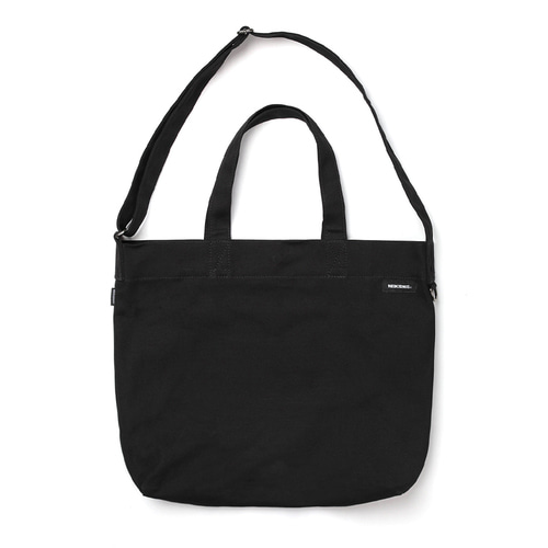BOLD LOGO 2WAY BAG / BLACK