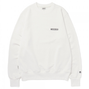 LOGO SWEAT SHIRT / IVORY