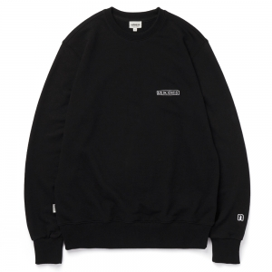 LOGO SWEAT SHIRT / BLACK