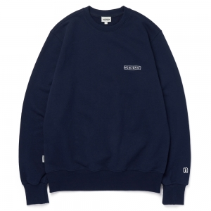 LOGO SWEAT SHIRT / NAVY