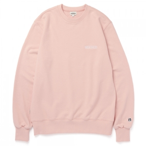 LOGO SWEAT SHIRT / INDI PINK