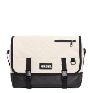 ICON MESSENGER BAG / LIGHT BEIGE