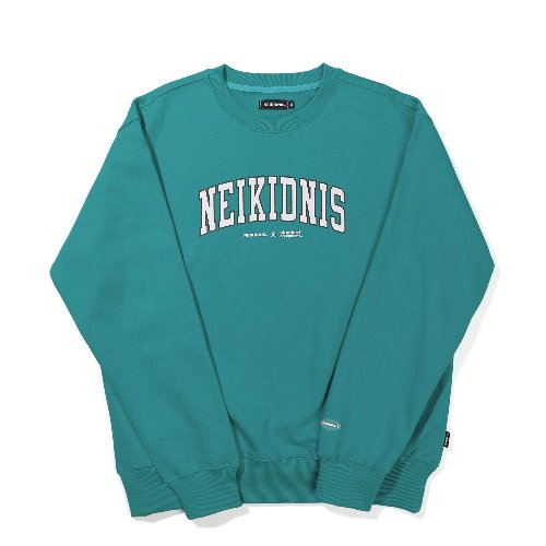 CURVED LOGO SWEAT SHIRT / MINT